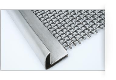 rectangular screen for separators